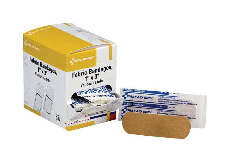 First Aid Only  Fabric Bandages  50 pk
