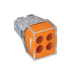 Wago  Insulated  Wire Connector  10 pk