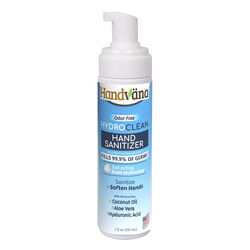 Handvana  Hydro Clean  Unscented Scent Hand Sanitizer  7 oz.