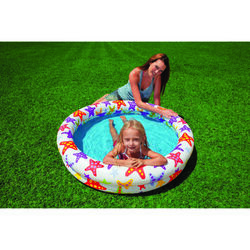 Intex  35 gal. Round  Plastic  Inflatable Pool  10 in. H x 4 ft. Dia.