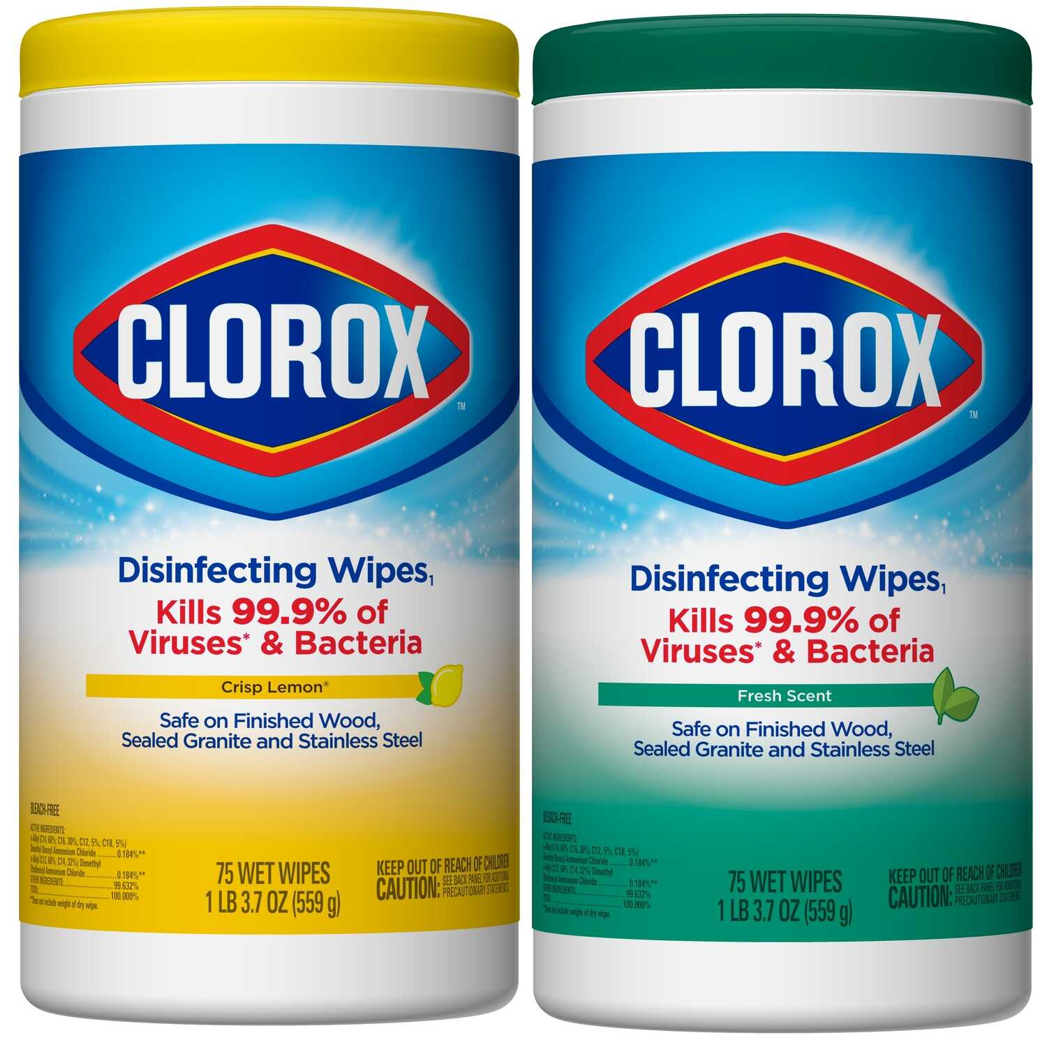 Clorox  Citrus Blend & Fresh Scent Disinfecting Wipes  150 pk