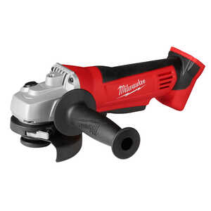 Milwaukee  M18  18 volt 4-1/2 in. Cordless  Straight Handle  9000 rpm Cut-Off/Angle Grinder