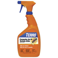 TERRO  Liquid  Carpenter Ant/Termite Killer  32 oz.