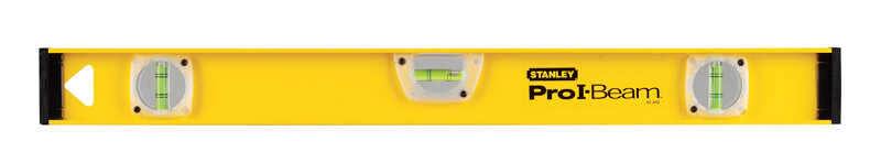 Stanley  24 in. Aluminum  I-Beam  Level  3