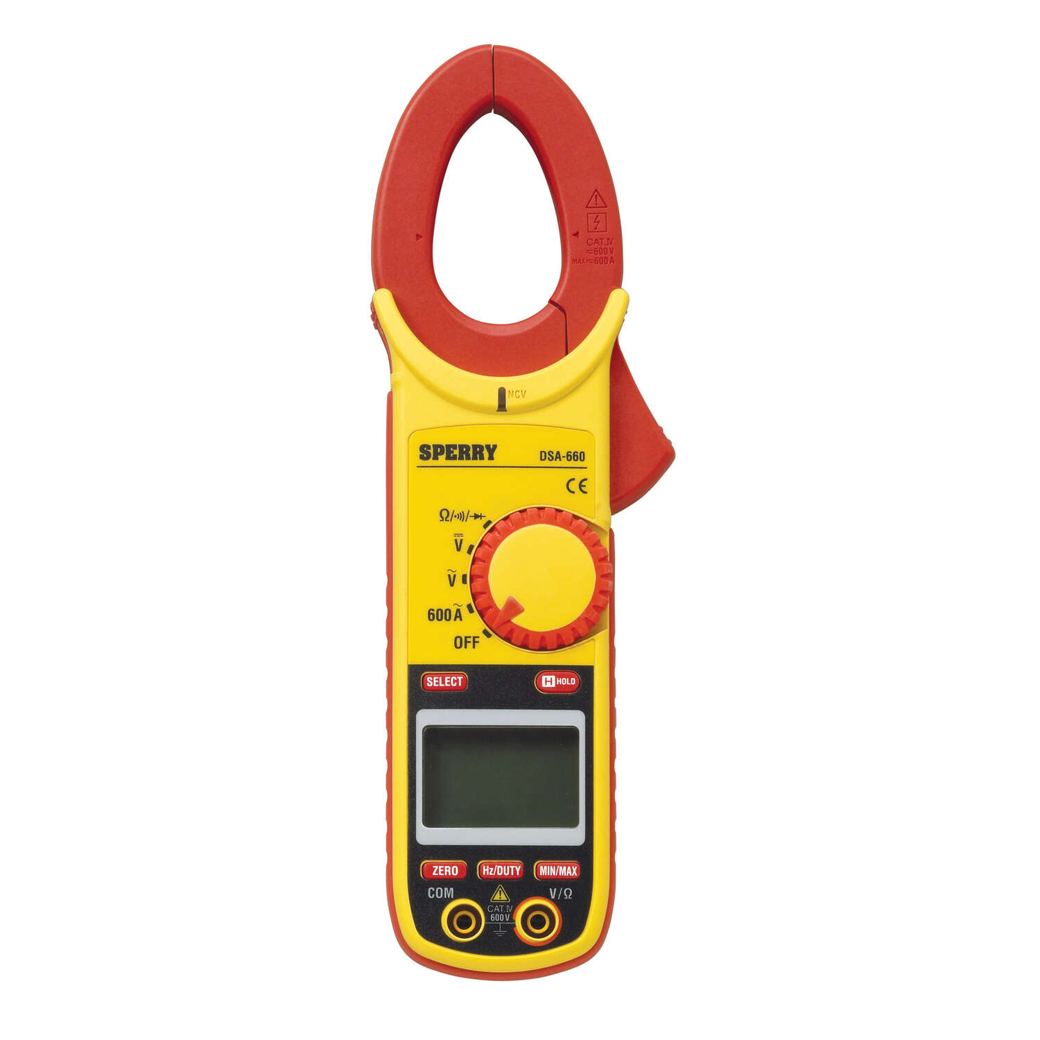 Sperry  600A  LCD  Clamp-On Meter