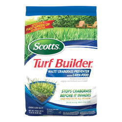 Scotts Turf Builder with Halts Crabgrass Preventer 30-0-4 Lawn Fertilizer 5000 sq. ft. For All
