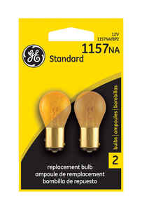 GE Lighting  12 volt Automotive Bulb  2  1157NA-BP
