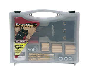 Milescraft  ABS Plastic  Jig Kit  1/2 in. to 1-1/2 in. Black  82 pc.