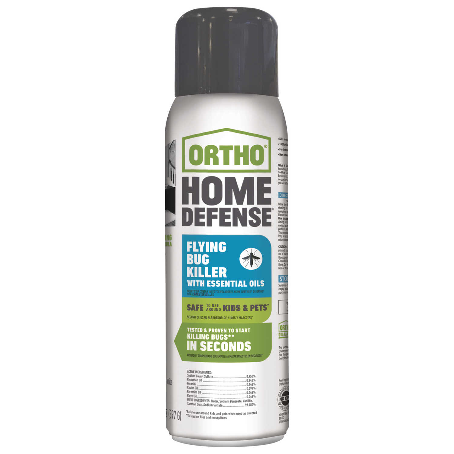 Ortho  Home Defense  Flying Insect Killer  14 oz.
