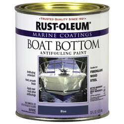 Rust-Oleum  Marine Coatings  Outdoor  Blue  Antifouling Paint  1 qt.