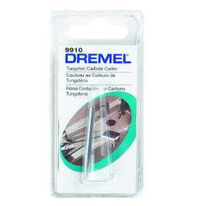 Dremel  1/8 in   x 1.5 in. L x 1/8 in. Dia. Tungsten Carbide  Cutter  1 pk