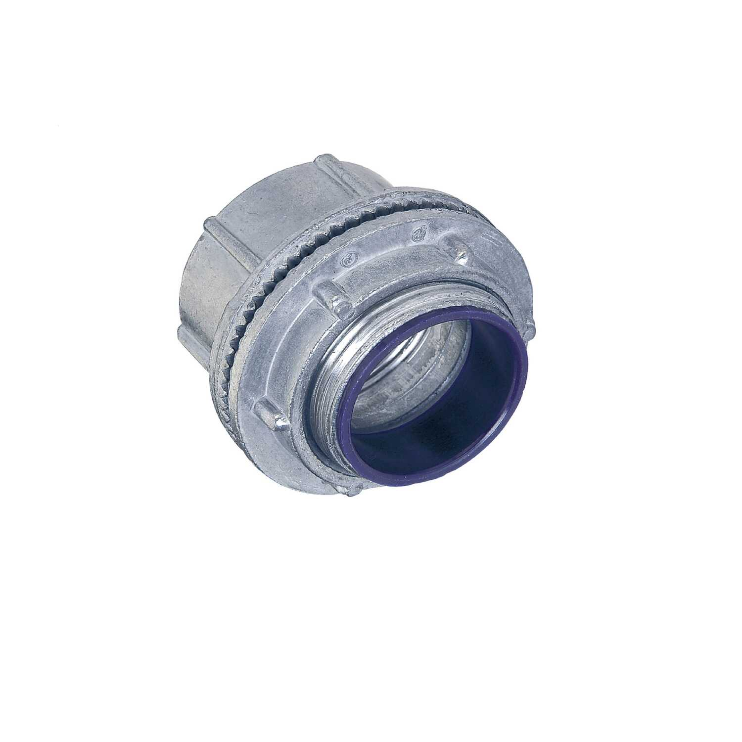 Sigma  1/2 in. Dia. Zinc  Electrical Conduit Connector  1 pk