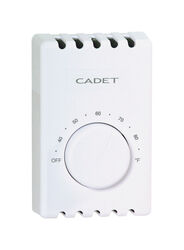 Cadet  Heating  Dial  Double Pole Line Voltage Thermostat