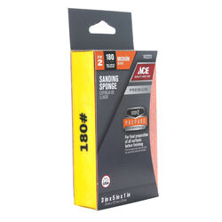 Ace Premium 5 in. L x 3 in. W x 1 in. 180 Grit Medium Block Sanding Sponge