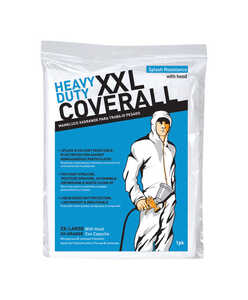 Trimaco  2X-Large  Polyolefin  Coveralls  White  2XLT  1 pk