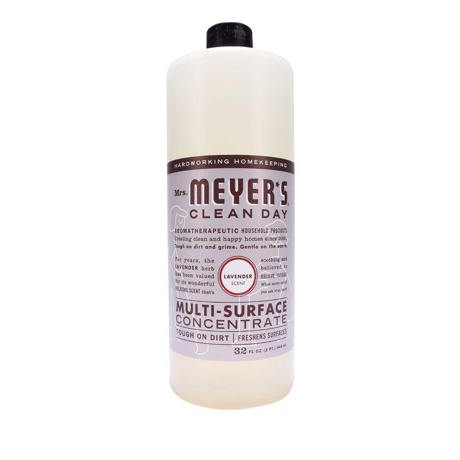 Mrs. Meyer's  Lavender Scent Concentrated Organic Multi-Surface Cleaner, Protector and Deodorizer  L