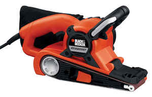 Black and Decker  Dragster  21 in. L x 3 in. W Corded  Belt Sander  7  1100 FPM