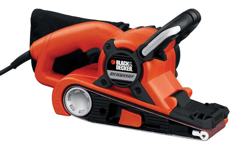 Black and Decker  Dragster  21 in. L x 3 in. W Belt Sander  7  1100 FPM Corded