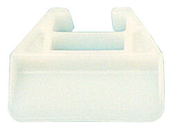Prime-Line  1-1/8 in. L Polyethylene  Drawer Track Guide  1 pk