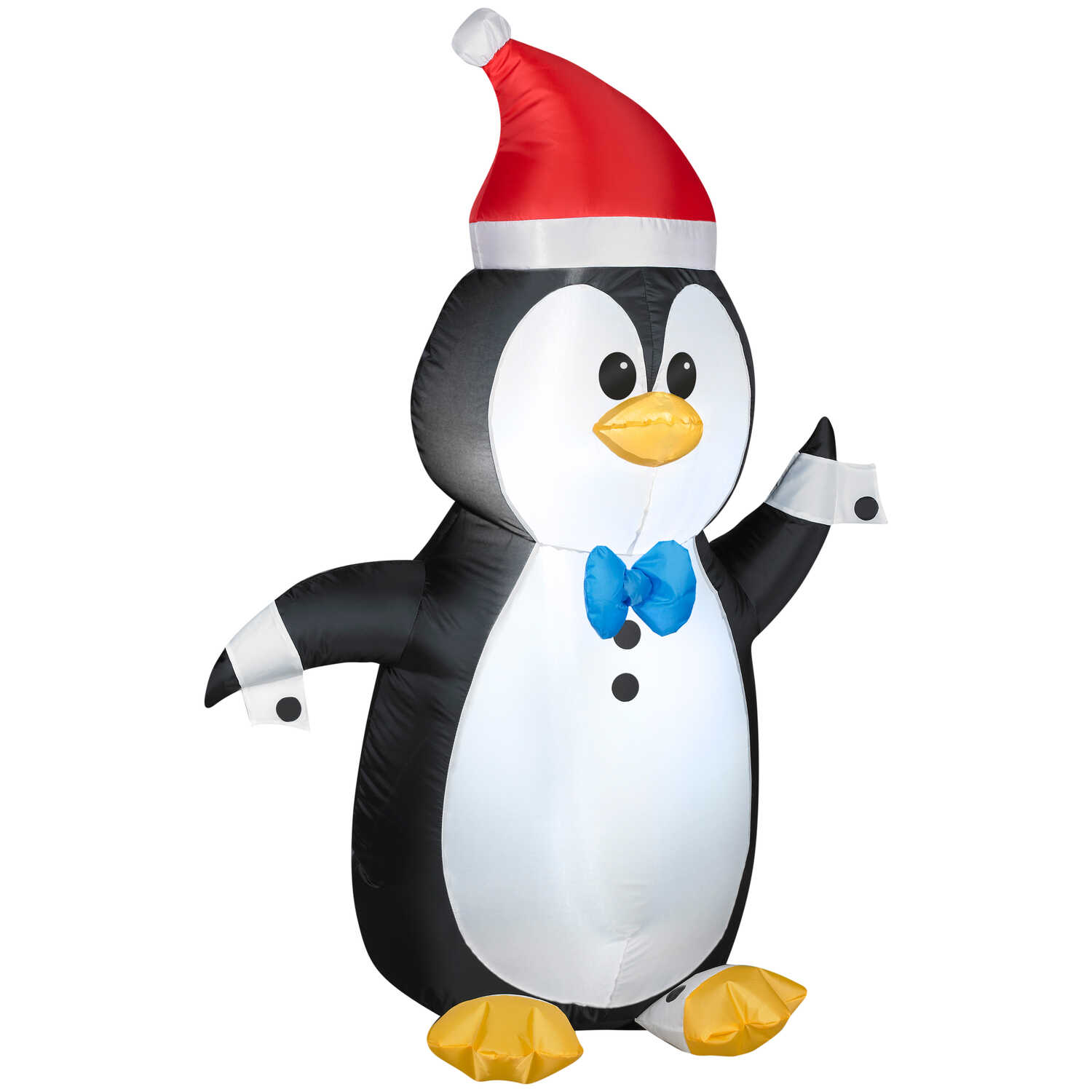 Gemmy  Penguin In Tuxedo  Christmas Inflatable  Multicolored  1  Satin