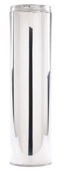 Selkirk  8 in. Dia. x 36 in. L Stainless Steel  Chimney Pipe
