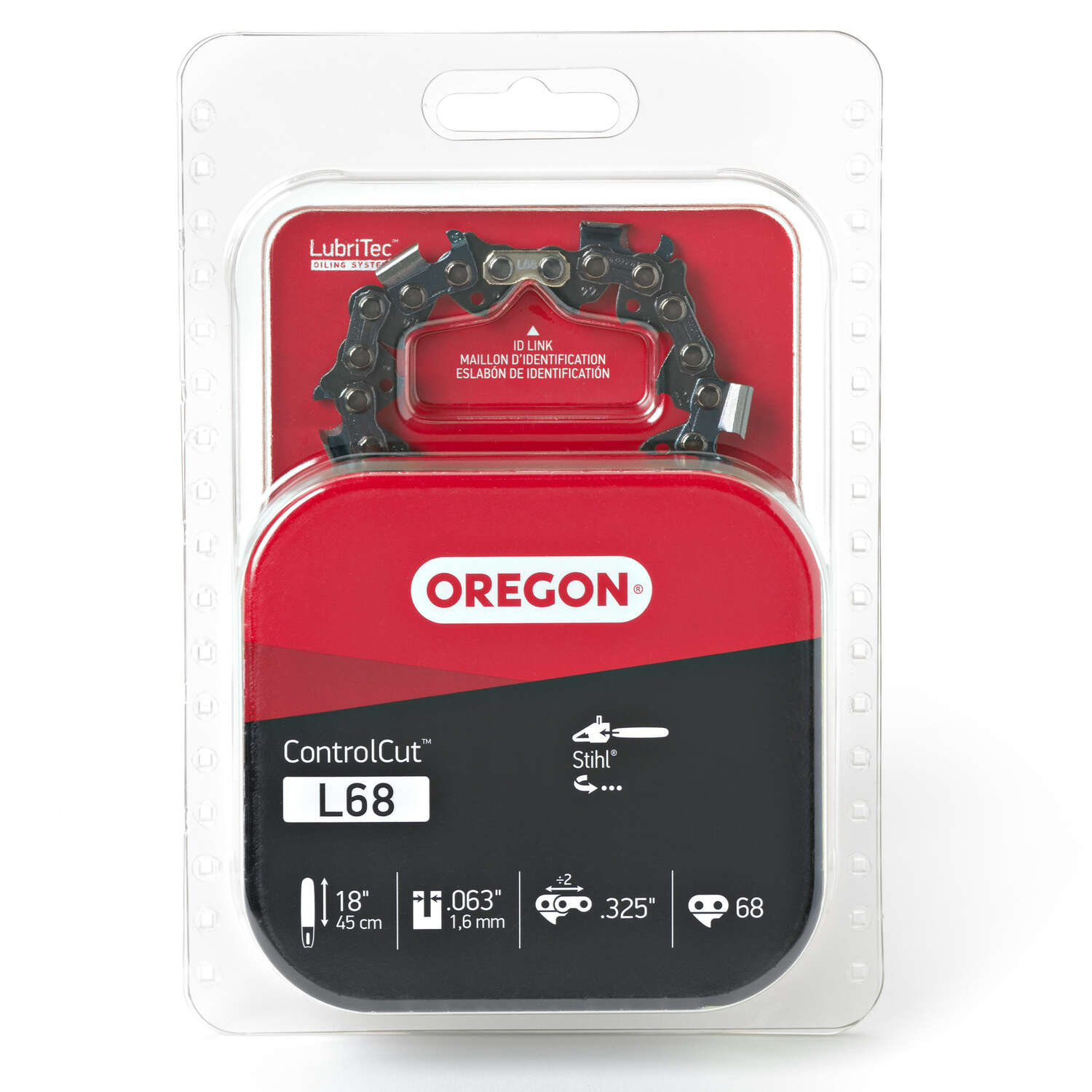 Oregon ControlCut 18 in. 68 links Chainsaw Chain