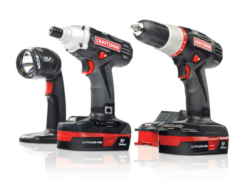 Craftsman  Ratcheting  Cordless  2 tool Drill and Driver Kit