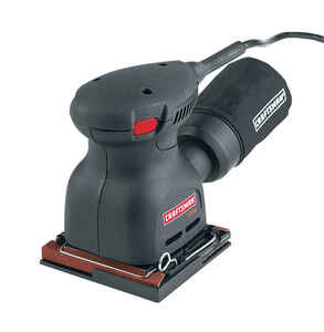 Craftsman  2 amps 120 volt Corded  1/4 Sheet  Pad Sander  5 in. L x 3 in. W 14000 opm