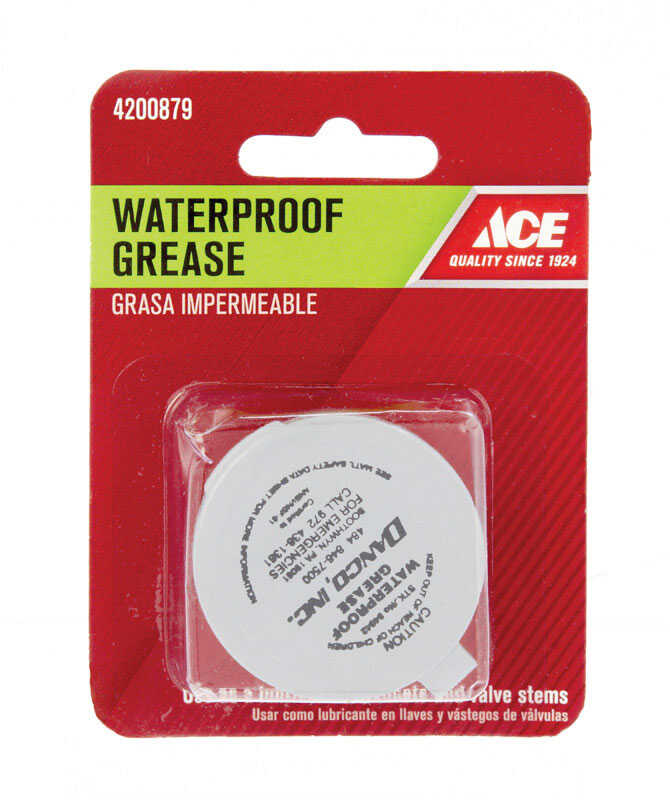 Ace  1/2 oz. Waterproof Grease