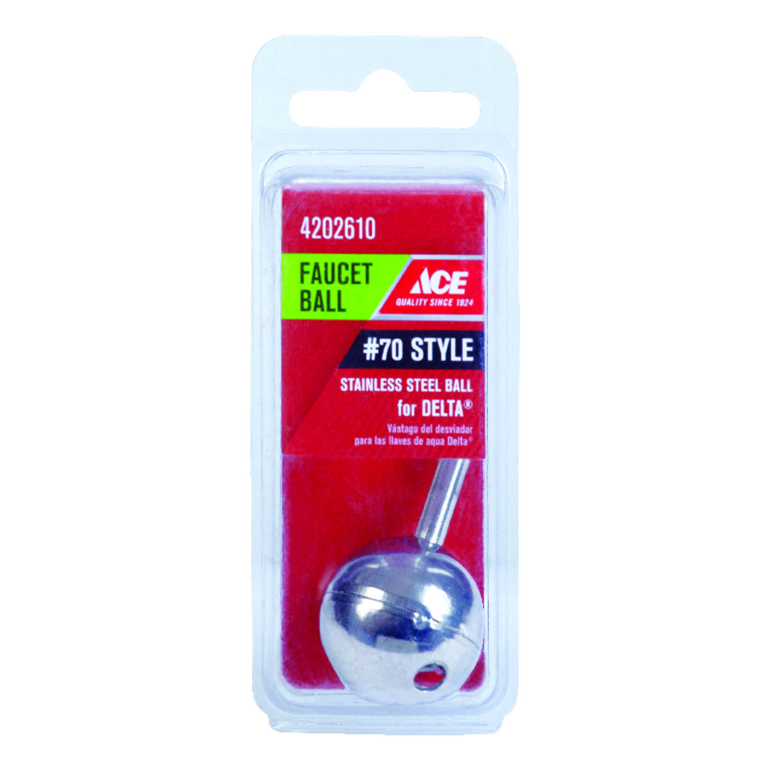 Ace  Stainless Steel  Ball Assembly