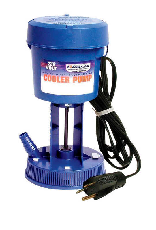 Dial  Plastic  Blue  Evaporative Cooler Pump