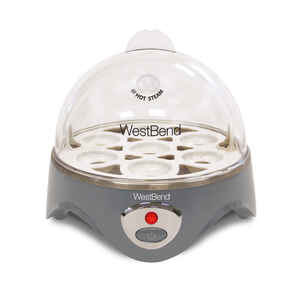West Bend  Silver  Egg Cooker