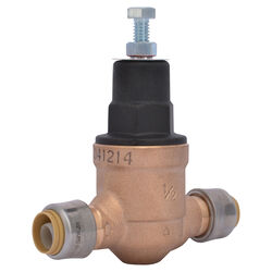 Cash Acme Push to Connect Bronze Pressure Regulator Valve