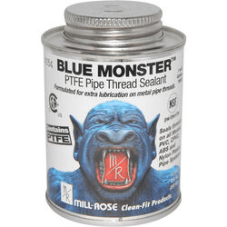 Mill-Rose Blue Monster White Pipe Thread Sealant 8 oz.