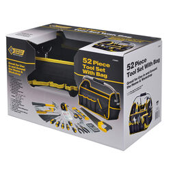 Steel Grip  Tool Set  Black/Yellow  52 pc.