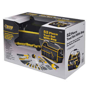 Steel Grip  52 pc. Assorted  Tool Set