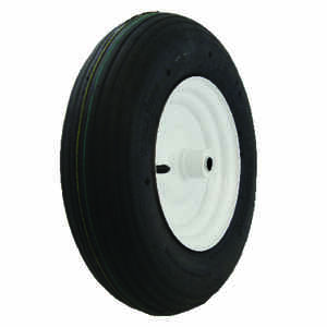 Marathon  8 in. Dia. x 16 in. Dia. 500 lb. capacity Offset  Plastic  Wheelbarrow Tire