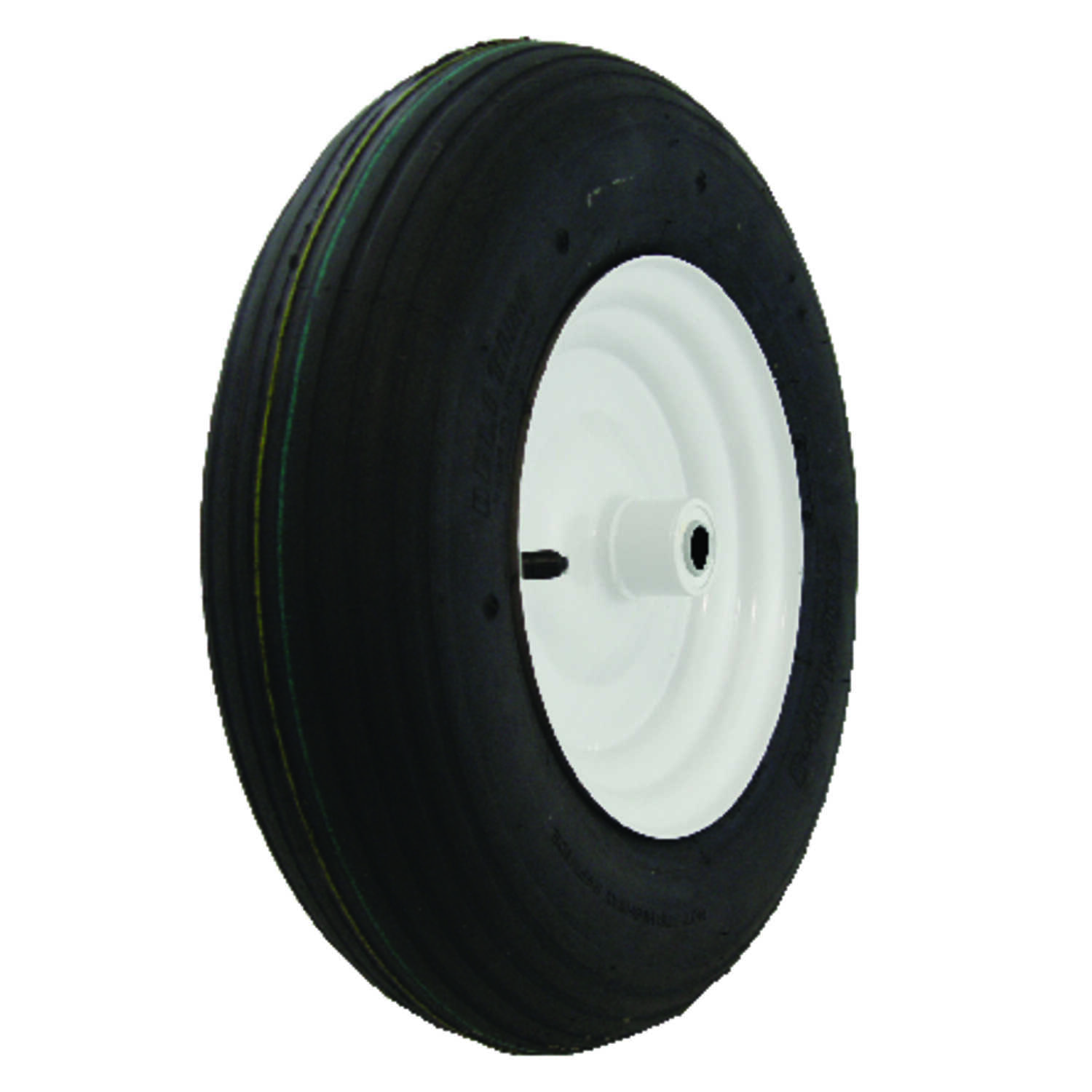 Marathon  500 lb. Plastic  Wheelbarrow Tire