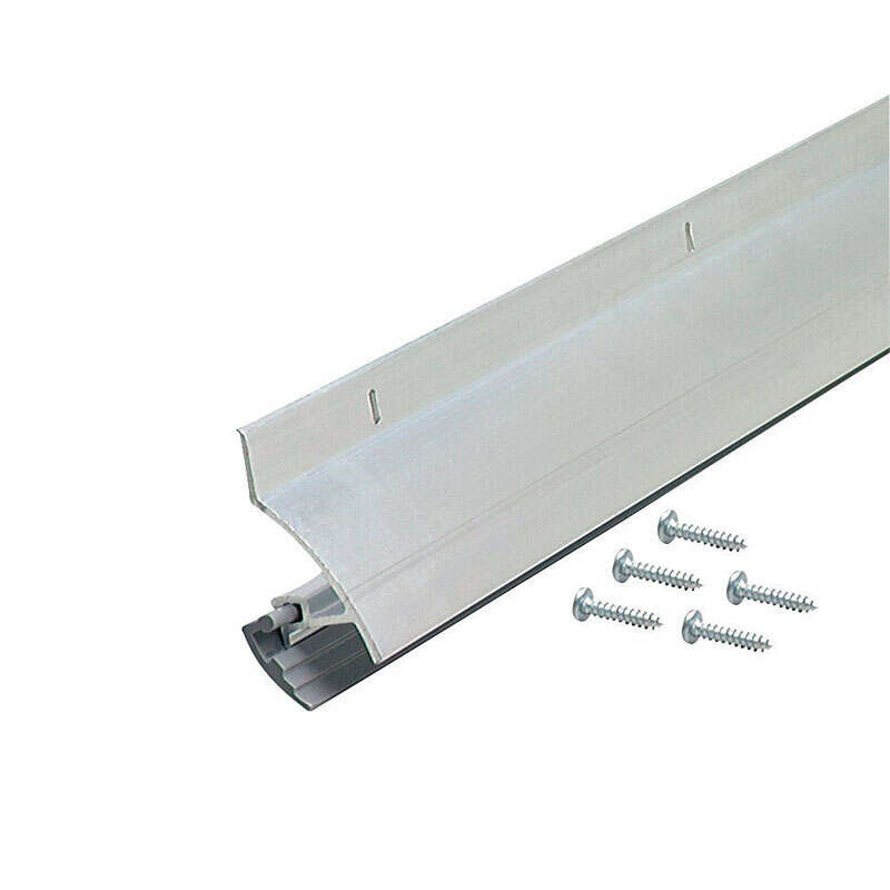 M-D  Silver  Aluminum  Replacement Bottom  For Doors 36 in. L x 1-5/16 in.