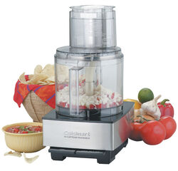 Cuisinart Brushed Nickel 14 cup Food Processor 720 watt