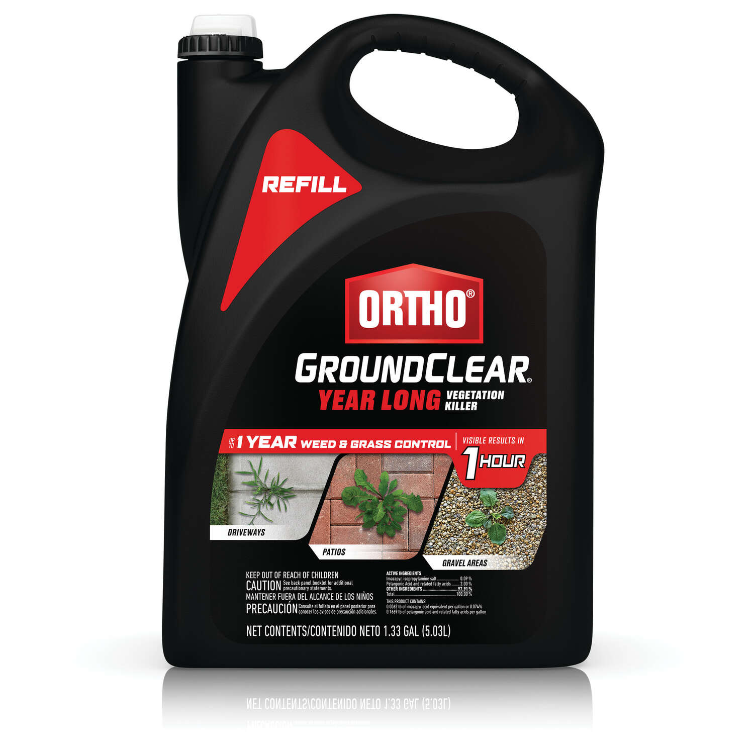 Ortho  GroundClear  Vegetation Killer  RTU Liquid  1.33 gal.