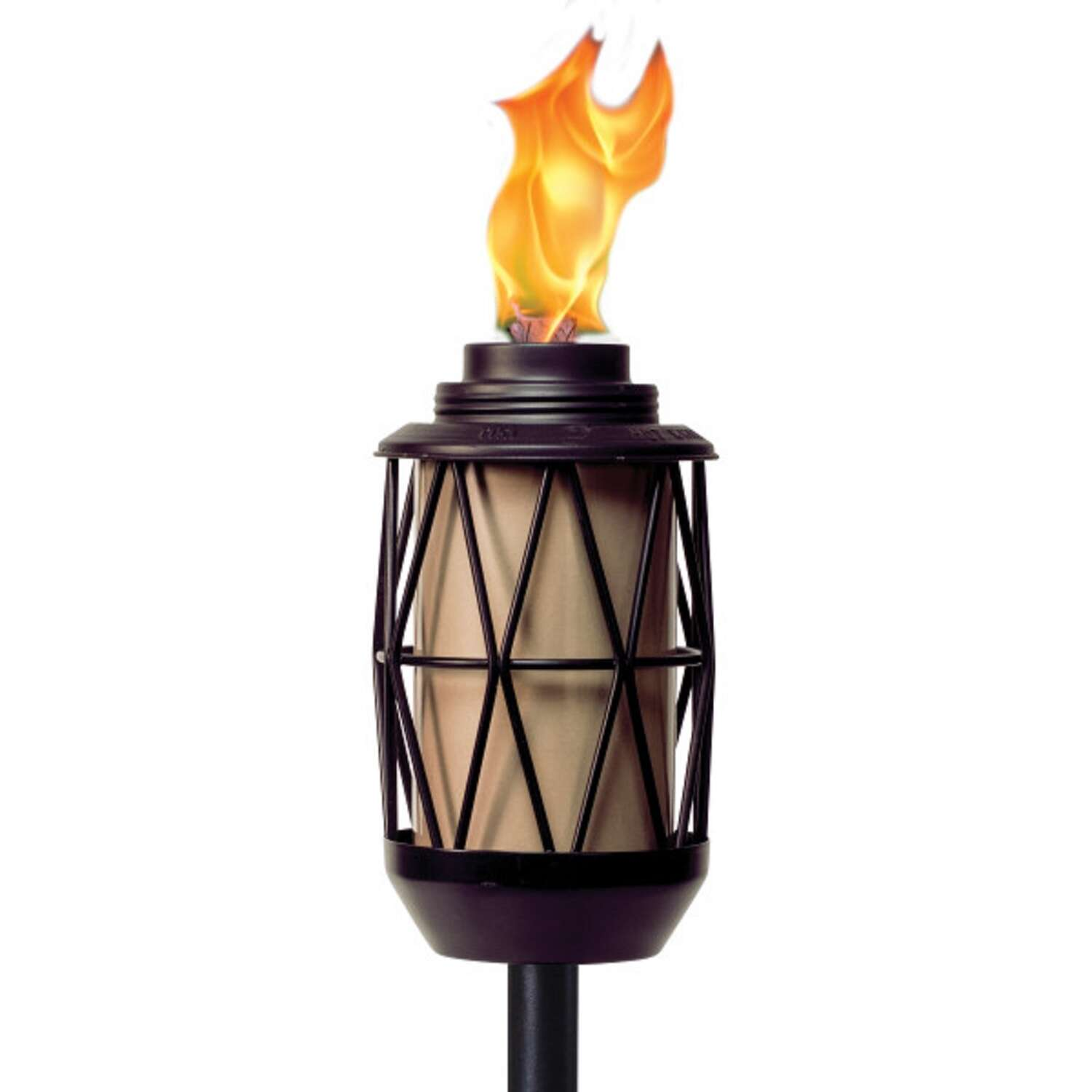 Tiki  BiteFighter  Black  Metal  64.25 in. Garden Torch  1 pc.