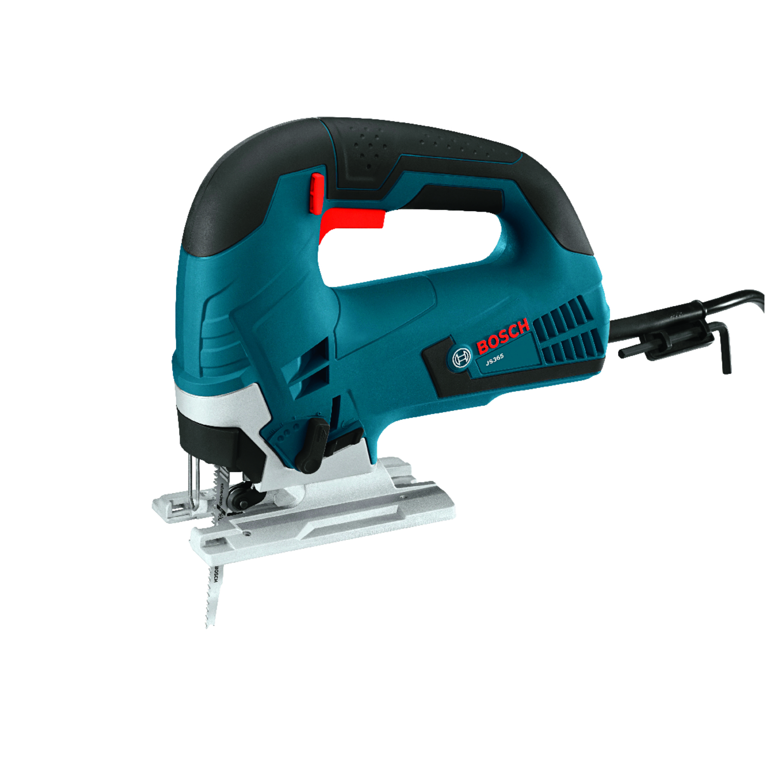 Bosch 1 in. Corded Keyless Orbital Jig Saw Bare Tool 120 volt 6.5 amps 3100 spm -  JS365