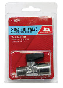 Ace  1/4  Brass  Threaded  Ball Valve