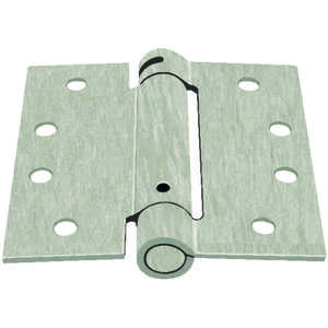 Ace  4 in. L Door Hinge  Nickel  Satin Nickel  1 pk
