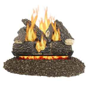 Pleasant Hearth Arlington Ash  Arlington Ash  Fireplace Log Set  56 lb.