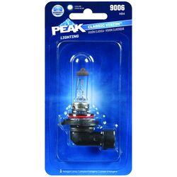 Peak  Classic Vision  Halogen  High/Low Beam  Automotive Bulb  9006 HB4
