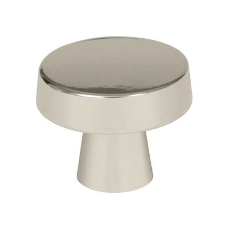 Amerock  Blackrock Collection  Rectangle  Cabinet Knob  1-5/16 in. Dia. 1-1/16 in. Polished Nickel