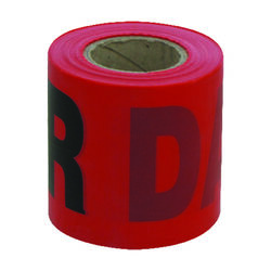 C.H. Hanson  200 ft. L x 3 in. W Plastic  Danger  Barricade Tape  Red