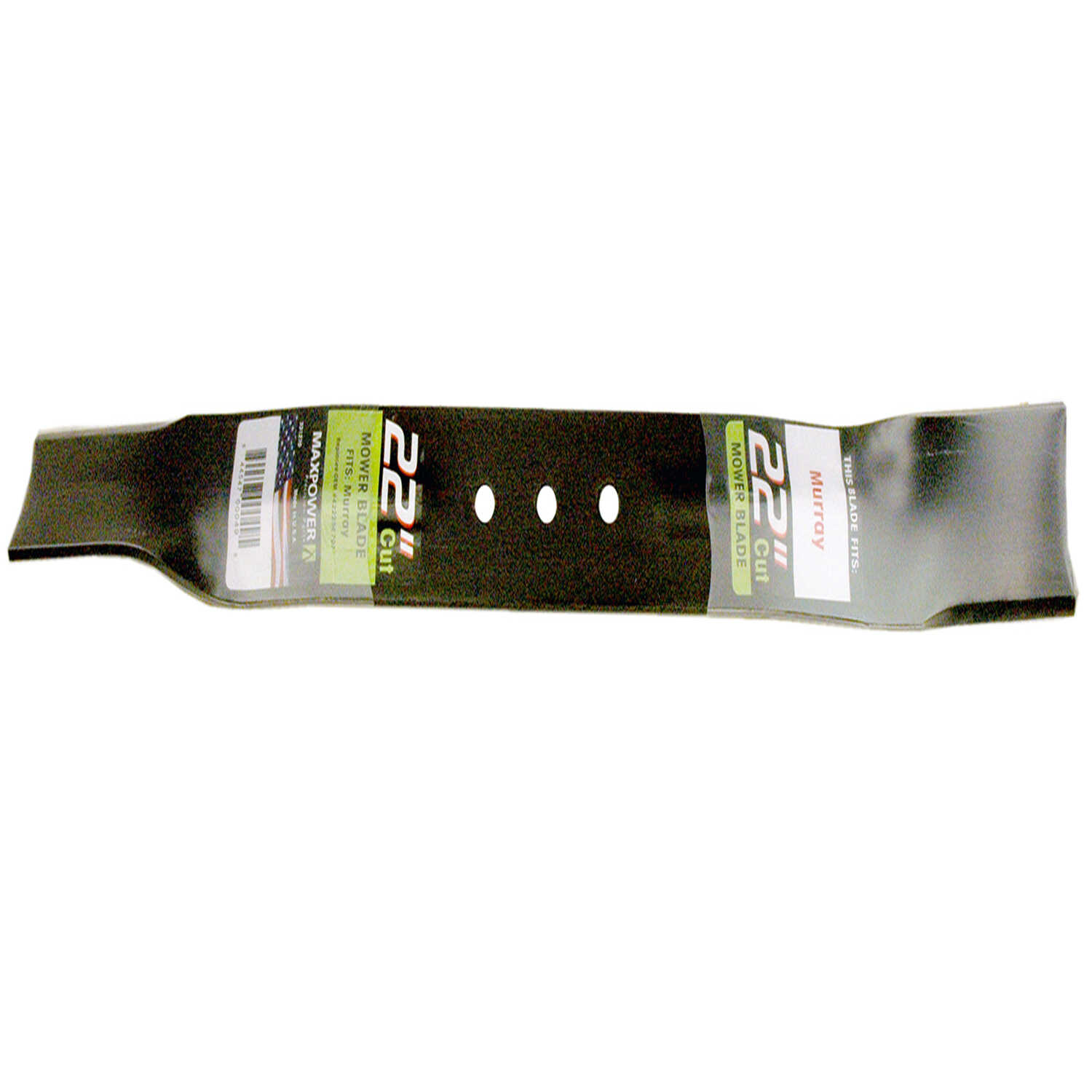 MaxPower  22 in. Standard  Mower Blade  For Walk-Behind Mowers 1 pk